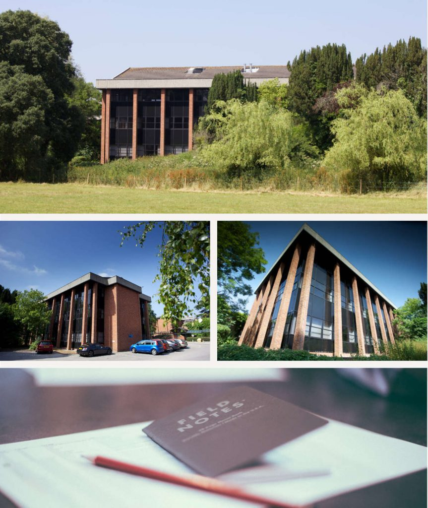 Large, open plan HQ office available in Winslade Park, Exeter