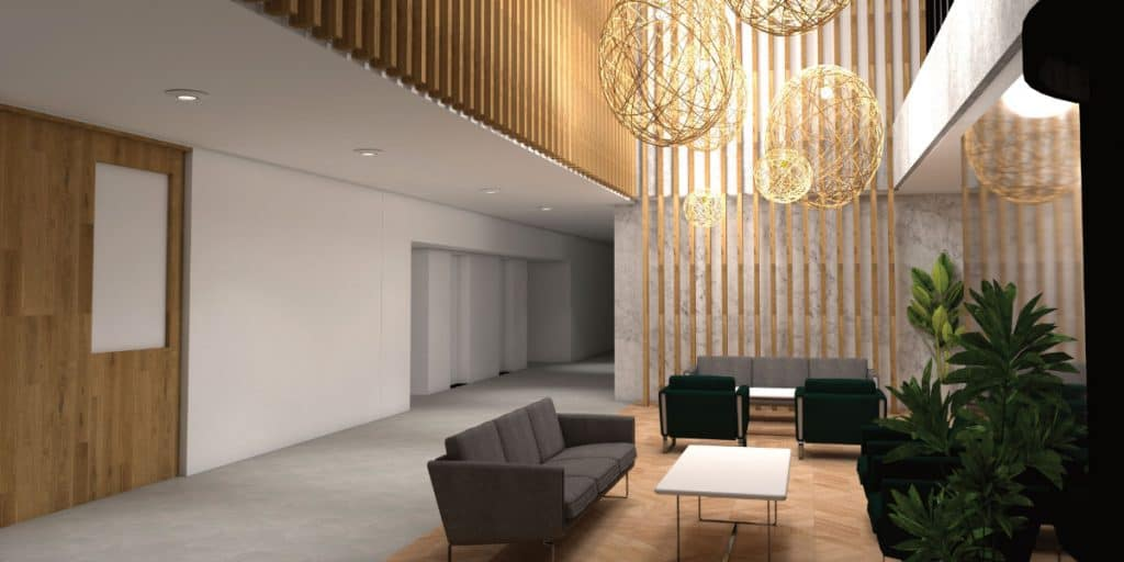 Winslade Park public consultation Winslade House interior CGI